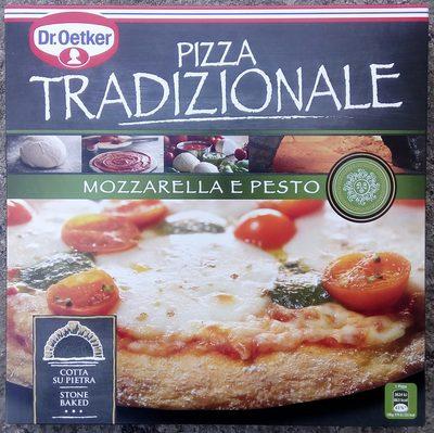 Pizza Tradizionale Mozzarella e Pesto - Product - sv