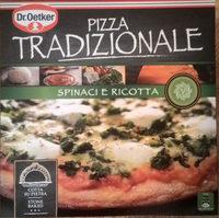 Dr. Oetker Pizza Tradizionale Spinaci e ricotta - Product - de
