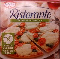 Ristorante Gluten Free Mozzarella Pizza - Produit - sv