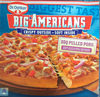 Pizza Big Americans BBQ Pulled Pork - Produit