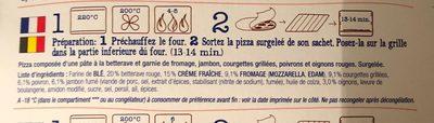 Pizza beetroot base - Ingrédients - fr