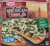 All American Pizza Cheesy Spinach - Produit