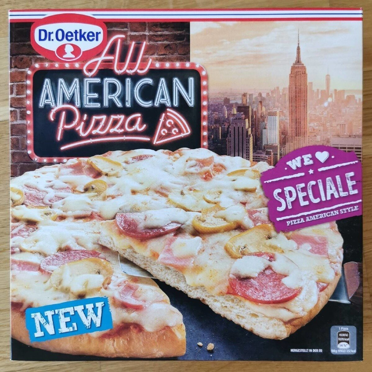 All American Pizza - Speziale - Produkt - de
