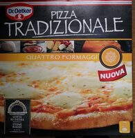 Pizza traditionale quattro fromaggi - Product - fr
