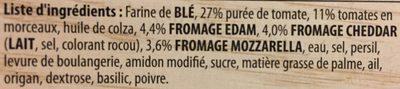 Bistro Classique Baguette Tomate & Fromage - Ingrédients