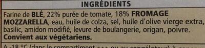 La Margherita Con Basilico - Ingrediënten