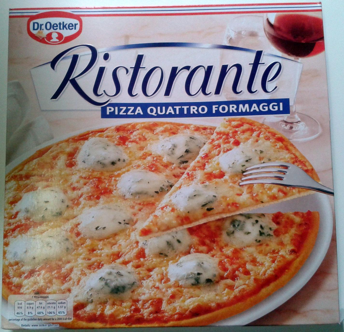 Pizza Ristorante Quattro Formaggi - Product