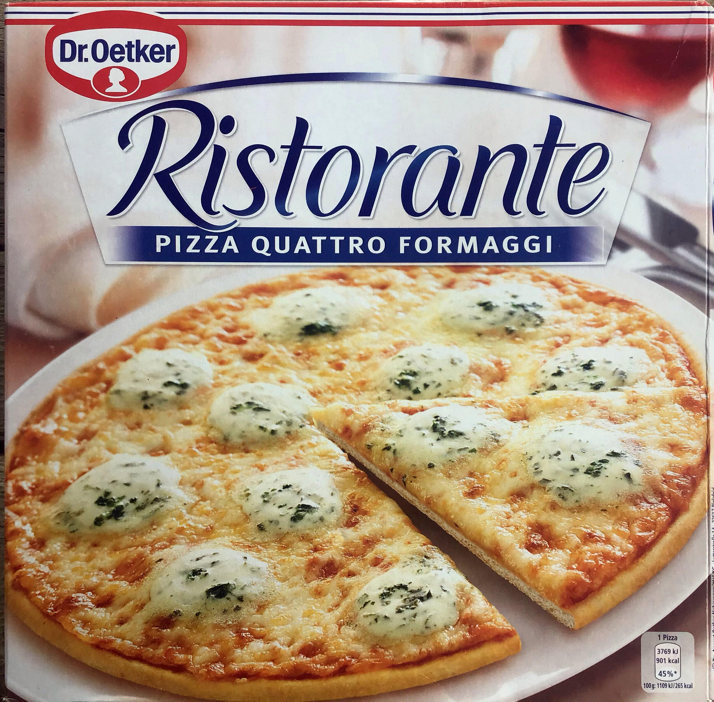Ristorante Pizza quattro formaggi - Prodotto - it