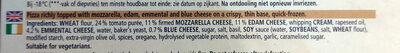 Ristorante Pizza quattro formaggi - Ingredients - en