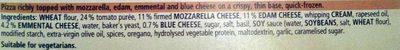 Pizza Ristorante Quattro Formaggi - Ingredients