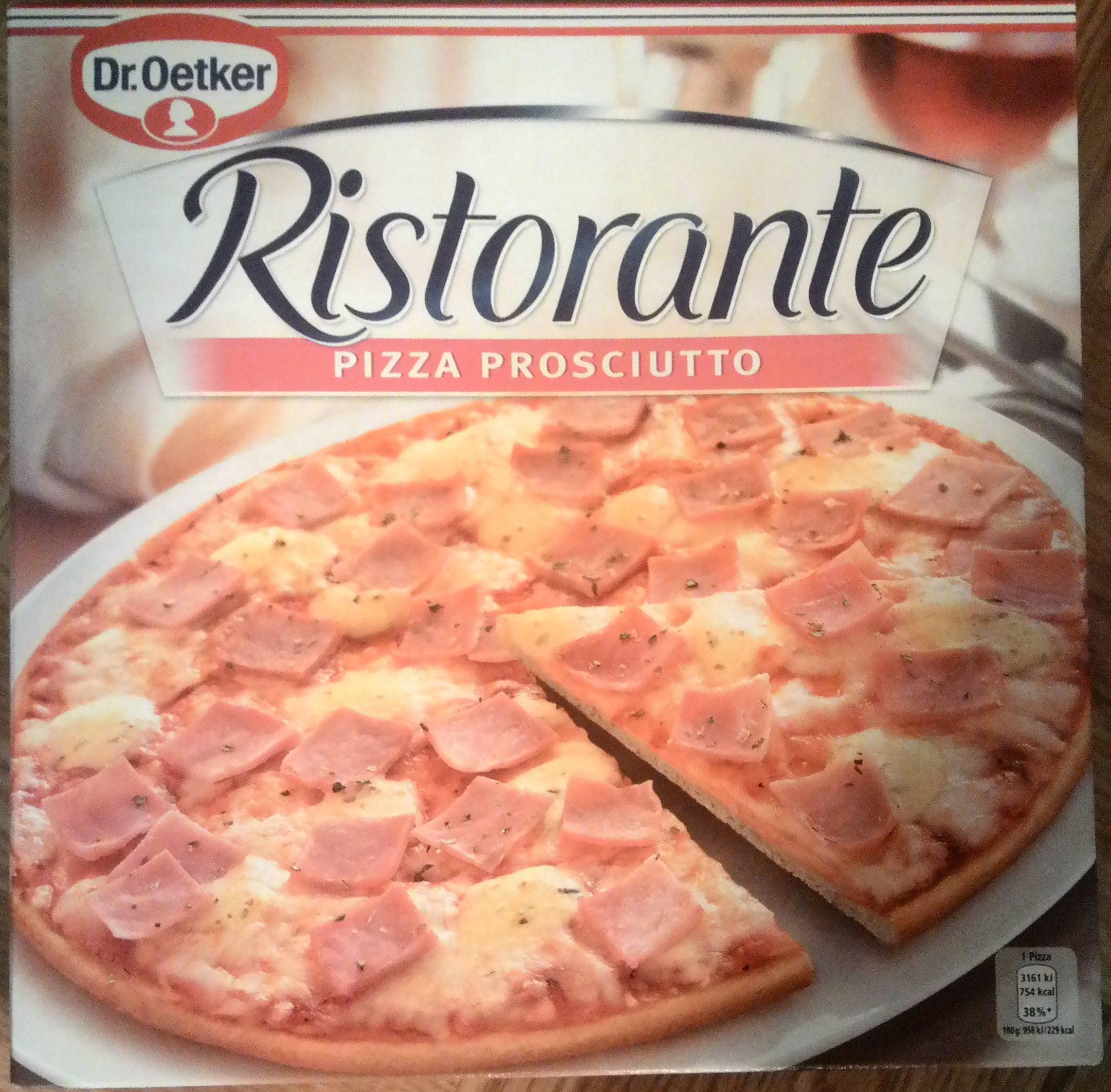 Ristorante pizza prosciutto - Product - en
