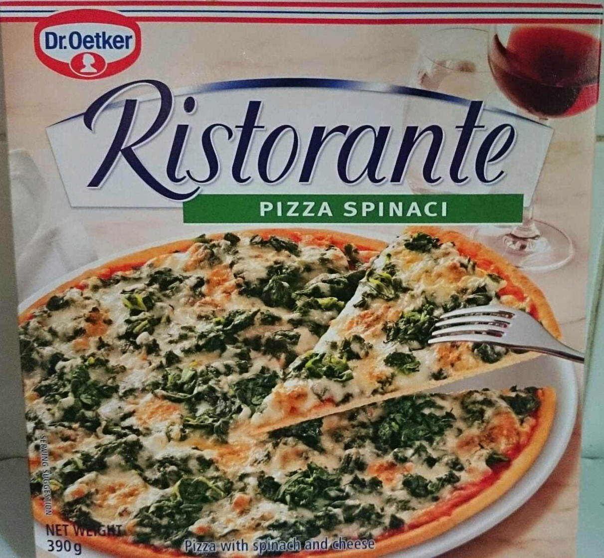 Ristorante Spinaci (Spinach) Frozen Pizza - Product