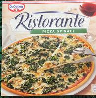 Ristorante - Pizza Spinaci - Produit - fr