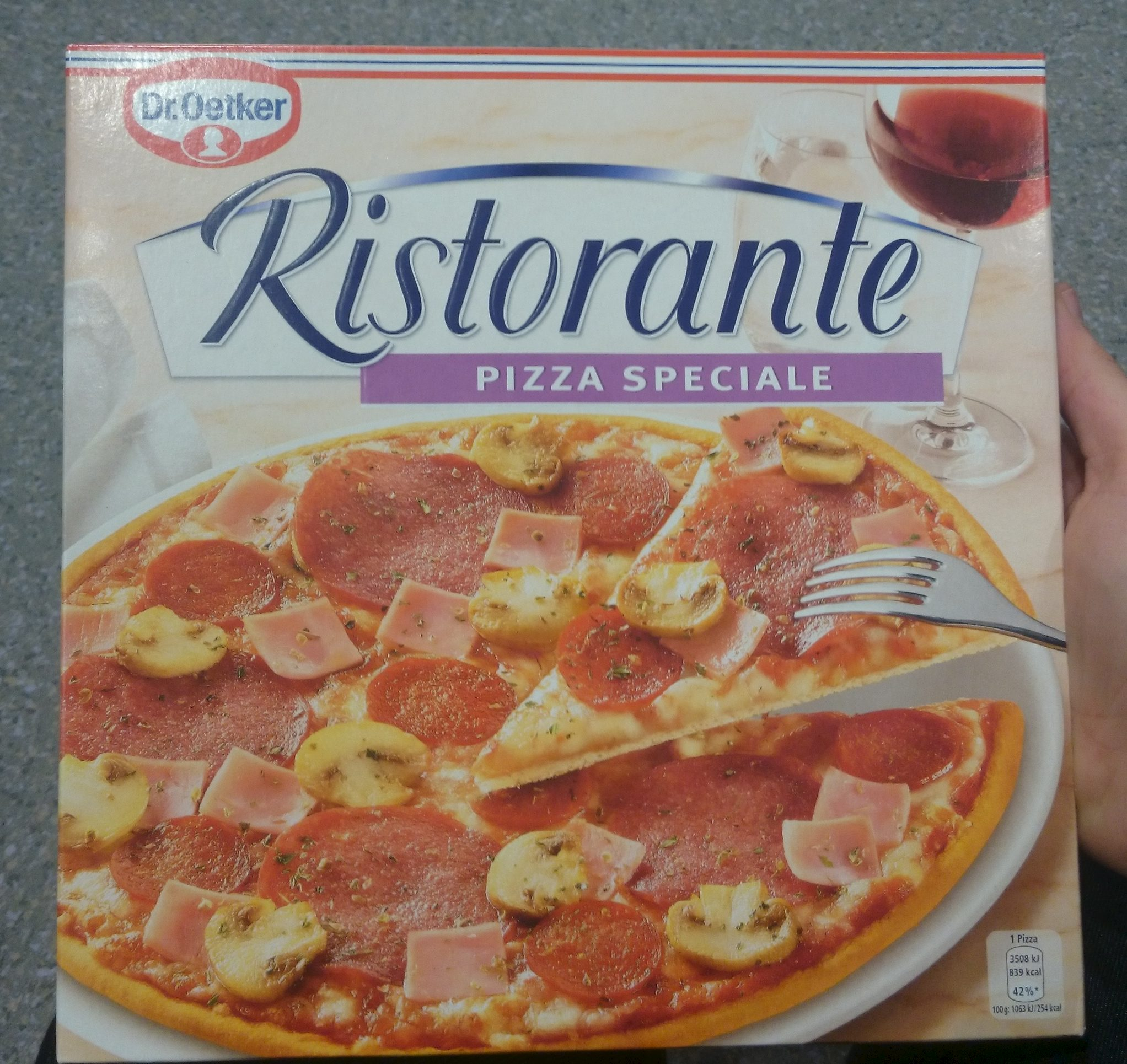Dr. Oetker Ristorante Pizza Speciale - Product - fr