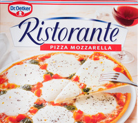Ristorante Pizza Mozzarella - Produkt - de