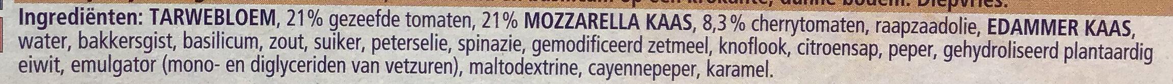 Ristorante Pizza Mozzarella - Ingrediënten - nl