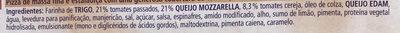 Ristorante Pizza Mozzarella - Ingredientes - pt