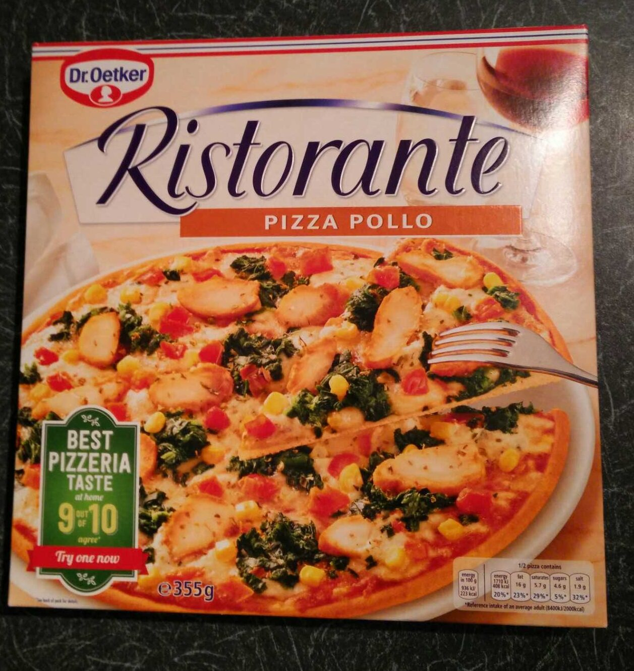 Pizza Pollo - Product - fr
