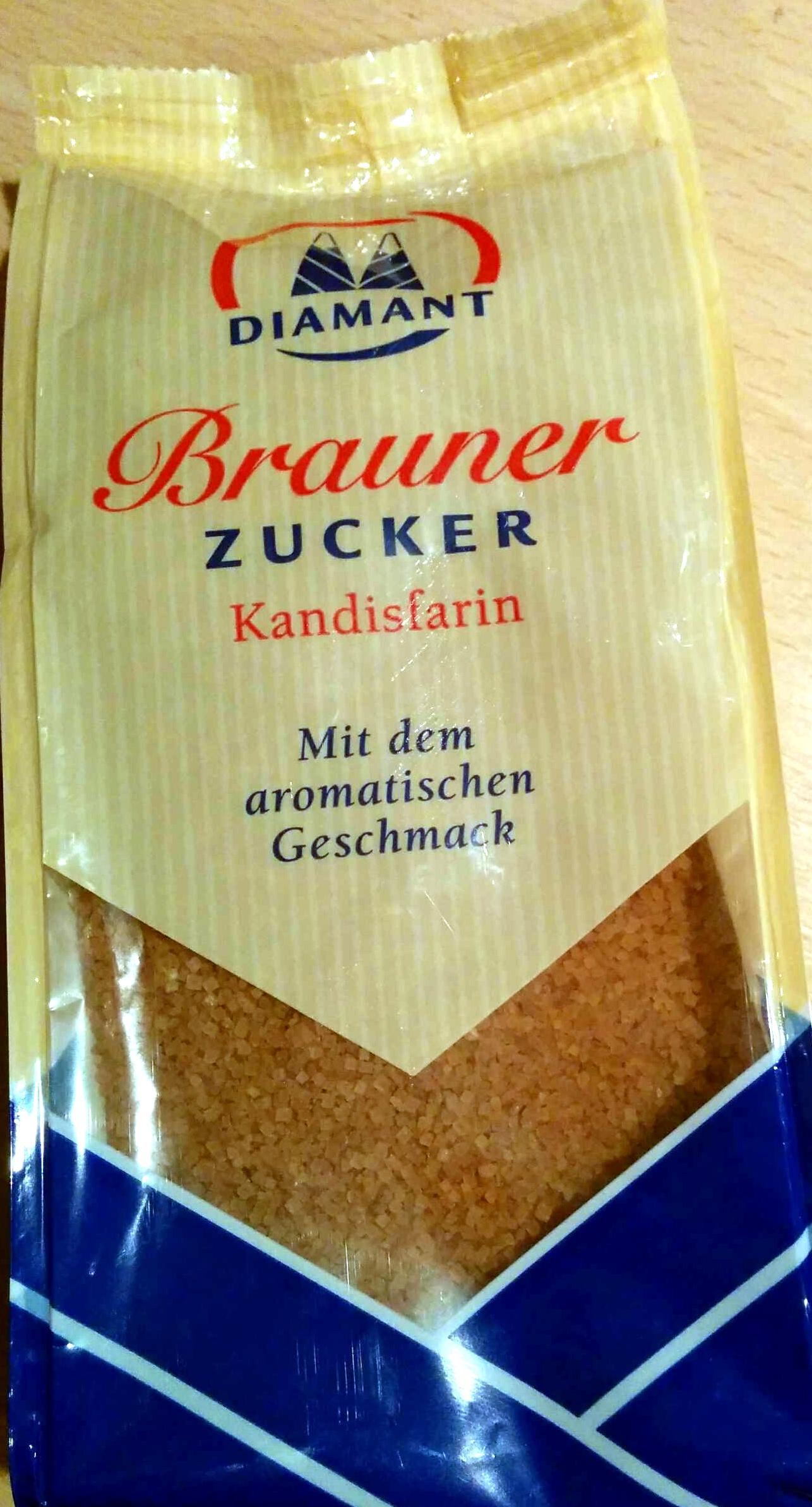 Brauner Zucker Kandisfarin - Product - de