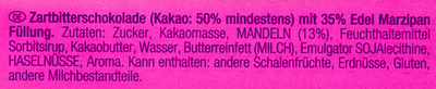 Edel-Marzipan - Ingredients - de