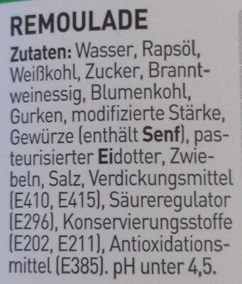 Remoulade Dänischer Art - Ingredients