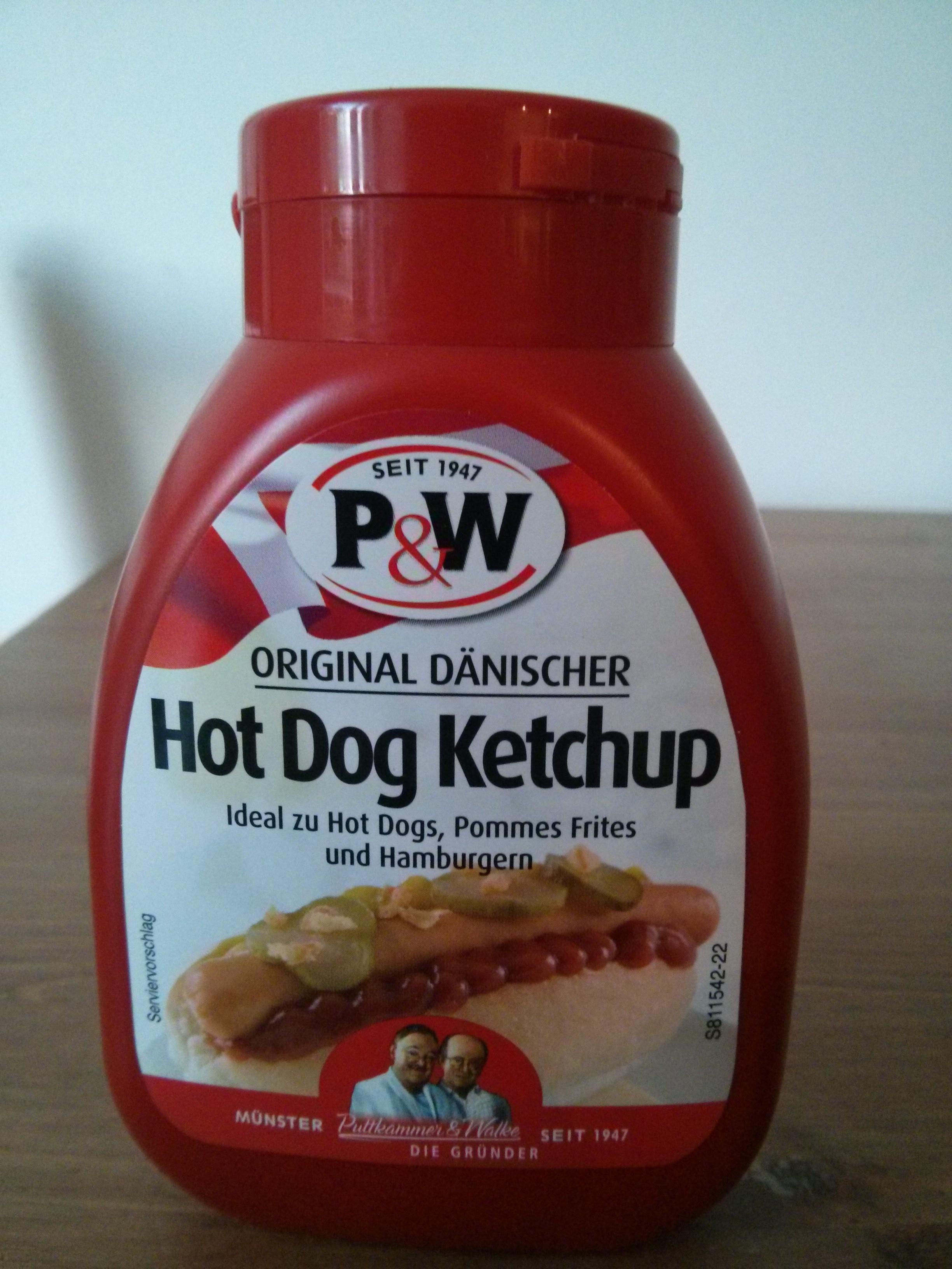 original d nischer hot dog ketchup p w 275 g. Black Bedroom Furniture Sets. Home Design Ideas