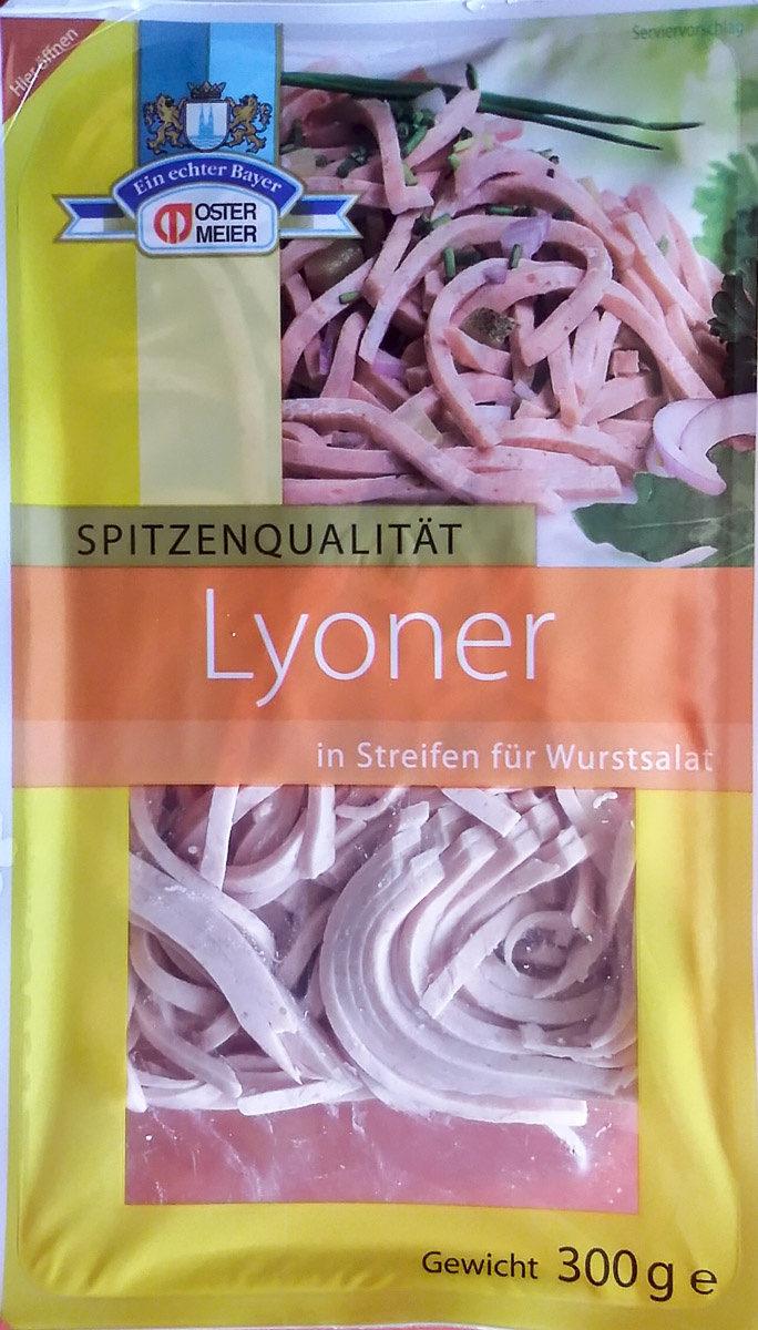 Lyoner in Streifen für Wurstsalat - Produit - de