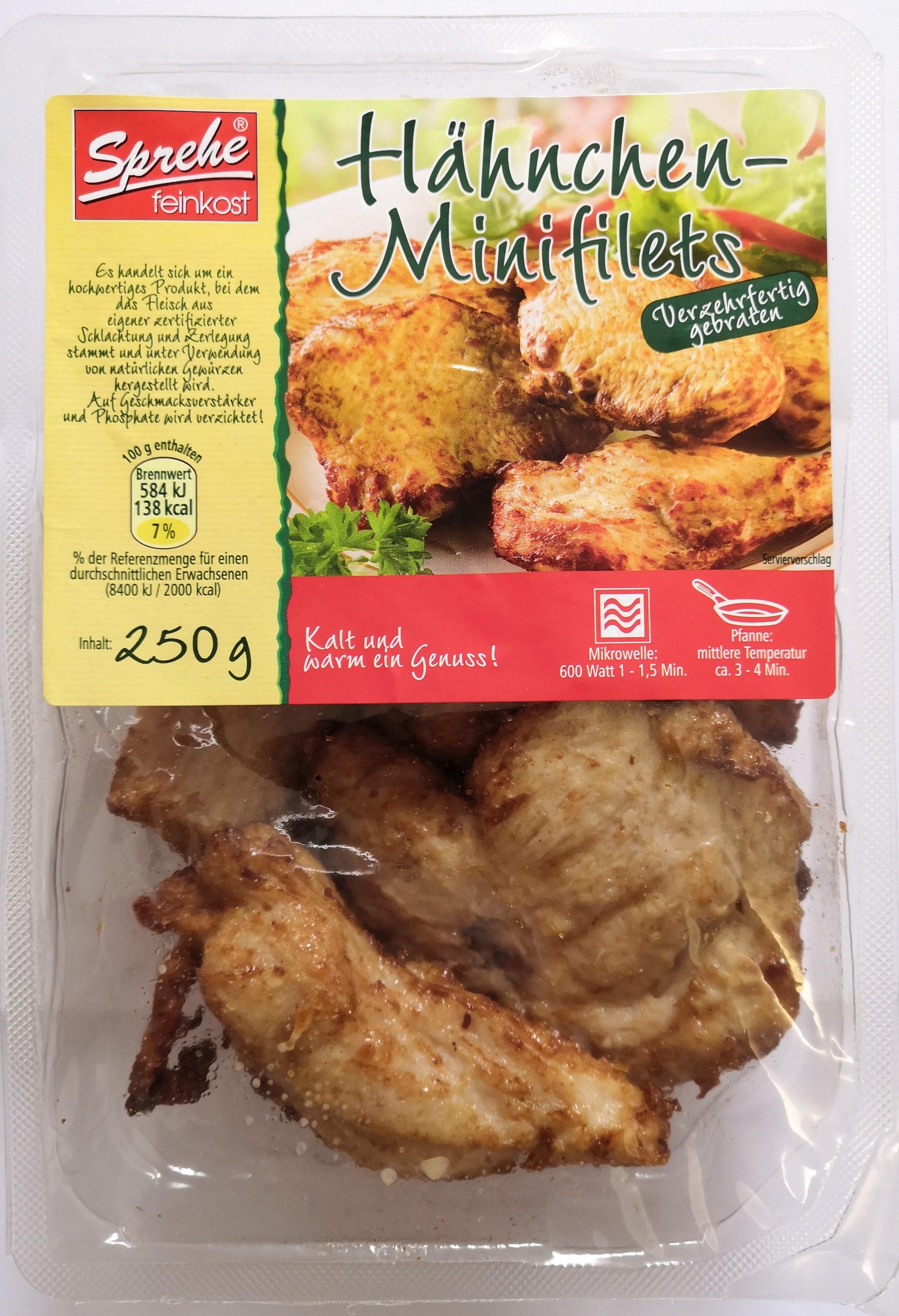 Sprehe Feinkost Hähnchen-Minifilets - Product
