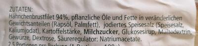 Sprehe Feinkost Hähnchen-Minifilets - Ingredients