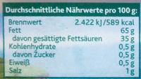 Kerrygold extra mit Meersalz - Nutrition facts - de