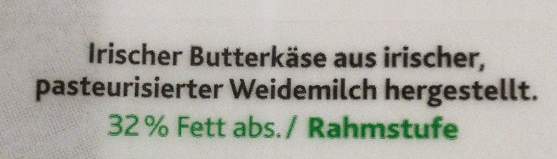 Kerrygold Butterkäse - Ingrédients
