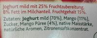Joghurt aus weidemilch - Ingrediënten