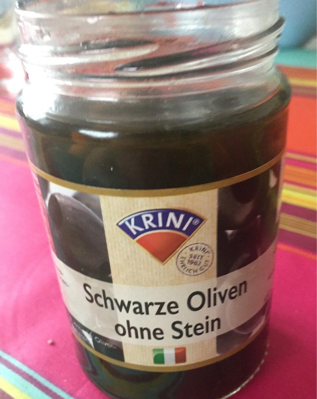 Krini Schwarze Oliven - Produit - de