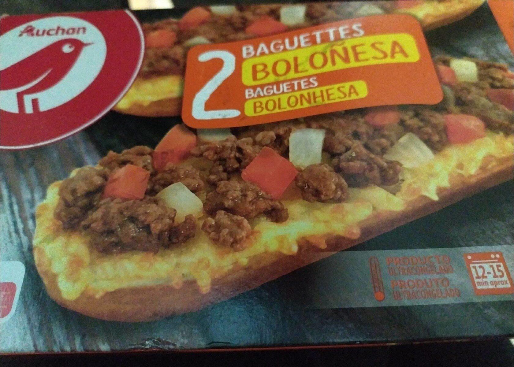 Baguettes boloñesa - Producte - es