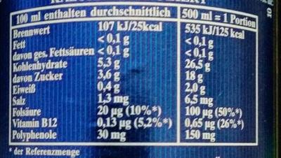 Erdinger Alkoholfrei - Nutrition facts - de