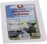 Original Bulgarischer Büffelkäse - Produkt - de