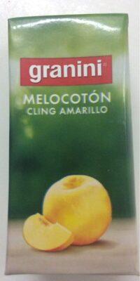Néctar de melocotón - Producto