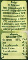 Néctar de melocotón - Ingredients - es