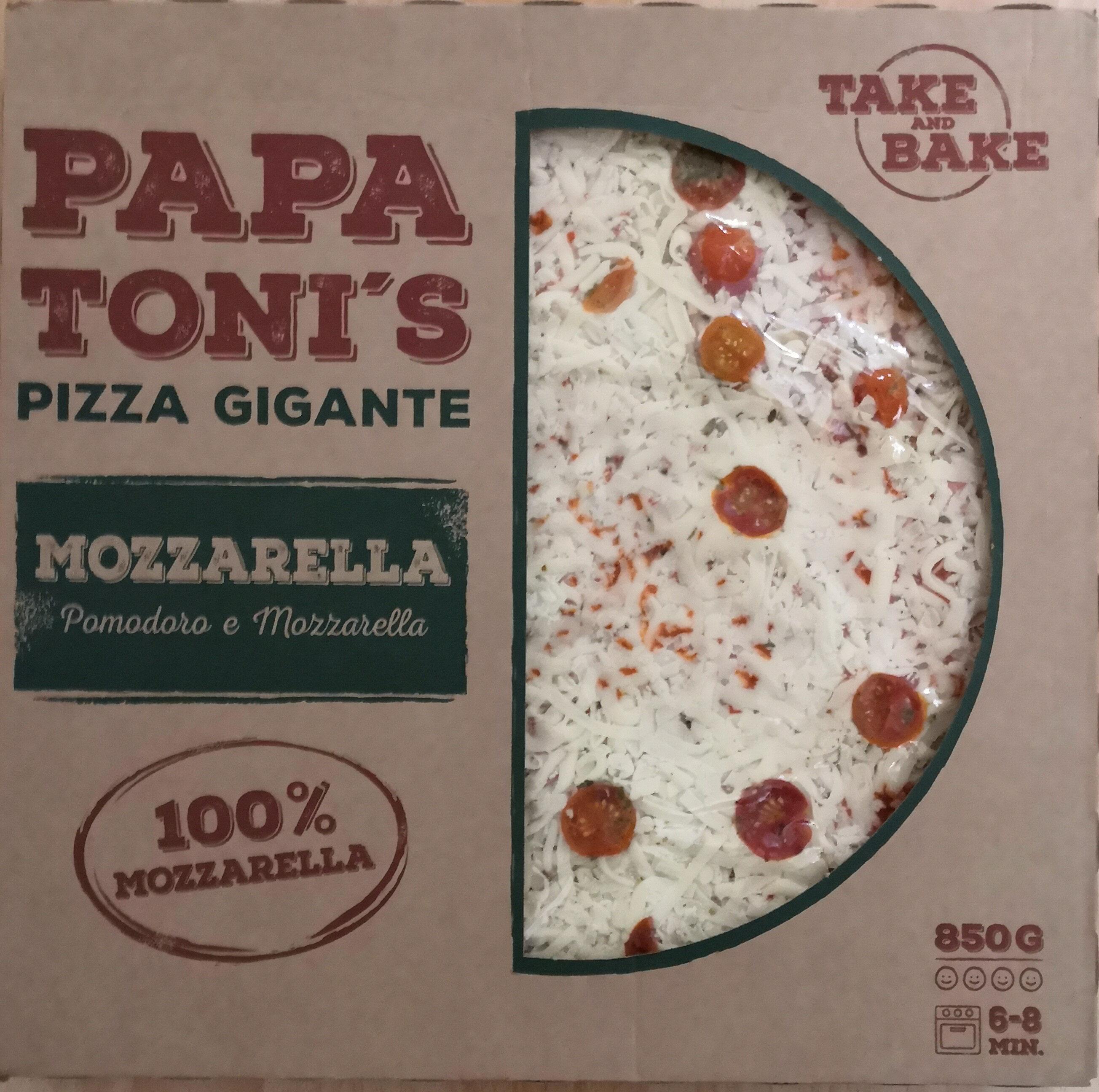 Papa Toni's Pizza Gigante Mozzarella - Produkt