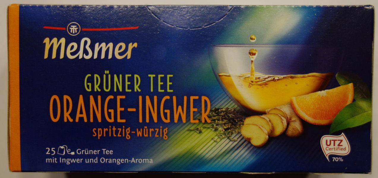 Grüner Tee Orange-Ingwer - Product - de