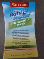 Kühl & Lecker Holunderblüte-Limette - Product