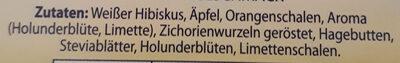 Kühl & Lecker Holunderblüte-Limette - Ingrediënten