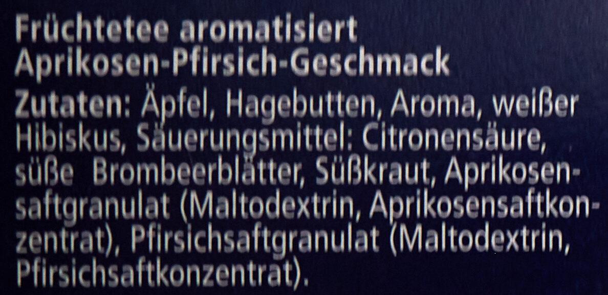 Aprikose-Pfirsich - Ingredienti - de