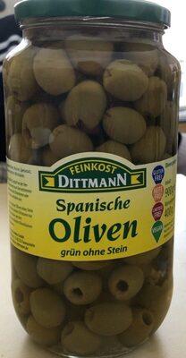 Spanische Oliven grün ohne Stein - Prodotto - de