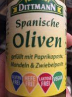 Oliven mit Mandeln&Zwiebelpaste - Produit