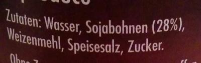 Soja Sauce - Ingrediënten