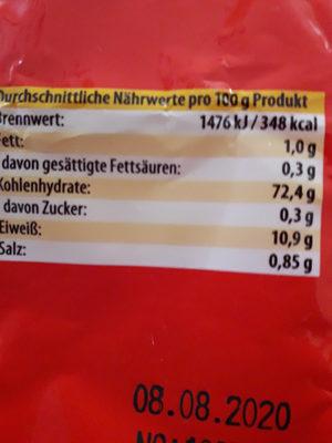 Mie-Nudeln - Ingrediënten