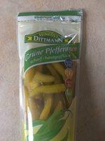 Grüne Pfefferonen - Product - de
