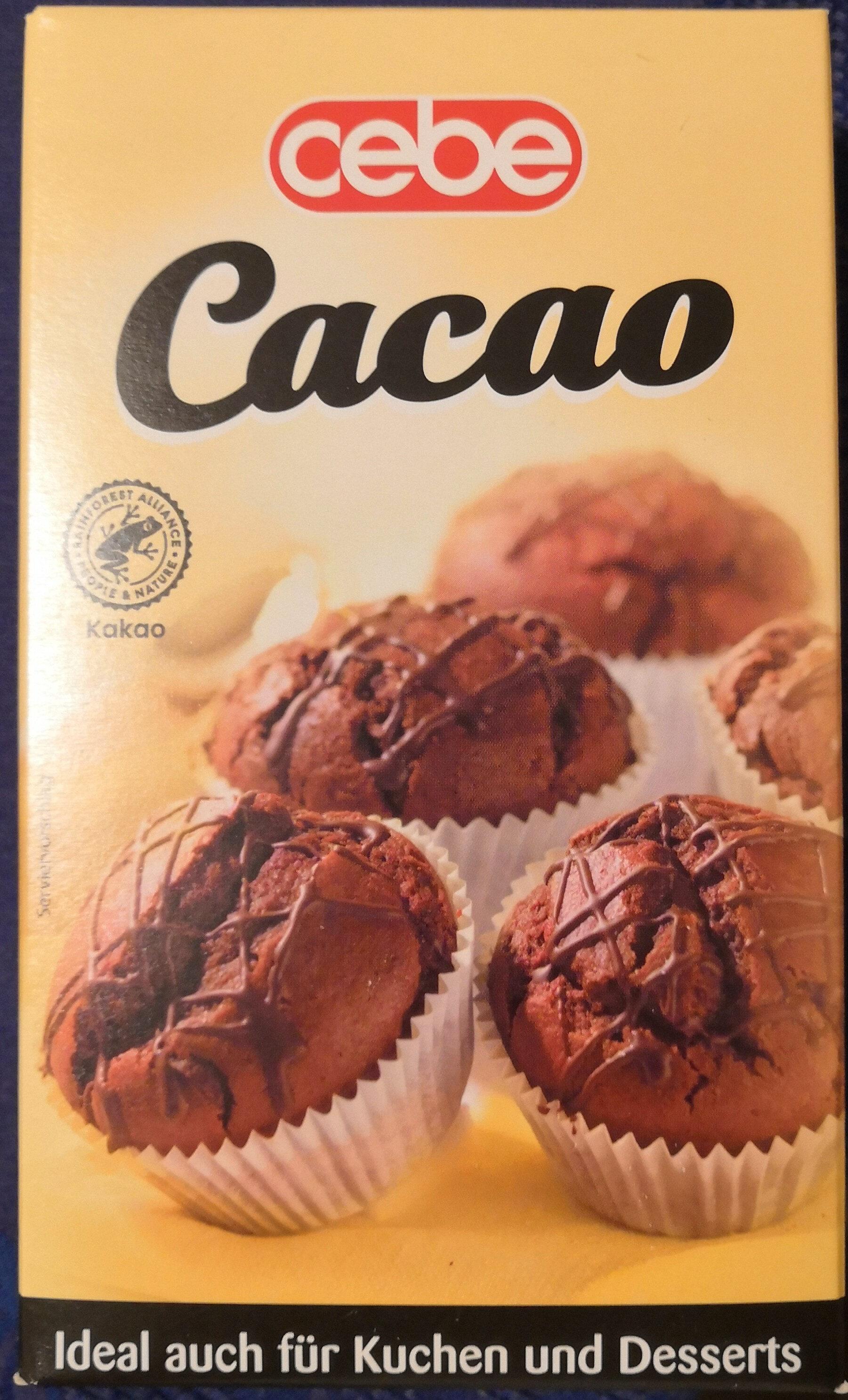 Cakao, schwach entölt - Produkt - de