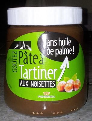 Pâte à tartiner aux noisettes sans huile de palme - Product